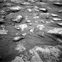 Nasa's Mars rover Curiosity acquired this image using its Left Navigation Camera on Sol 2092, at drive 564, site number 71