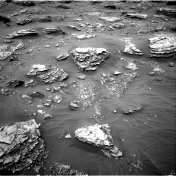 Nasa's Mars rover Curiosity acquired this image using its Right Navigation Camera on Sol 2092, at drive 228, site number 71