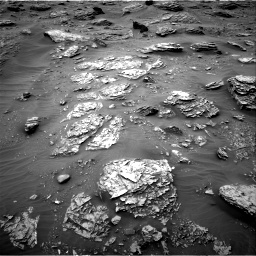Nasa's Mars rover Curiosity acquired this image using its Right Navigation Camera on Sol 2092, at drive 240, site number 71