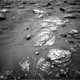 Nasa's Mars rover Curiosity acquired this image using its Right Navigation Camera on Sol 2092, at drive 246, site number 71