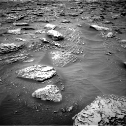 Nasa's Mars rover Curiosity acquired this image using its Right Navigation Camera on Sol 2092, at drive 276, site number 71