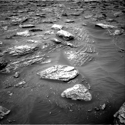 Nasa's Mars rover Curiosity acquired this image using its Right Navigation Camera on Sol 2092, at drive 282, site number 71