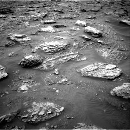 Nasa's Mars rover Curiosity acquired this image using its Right Navigation Camera on Sol 2092, at drive 288, site number 71
