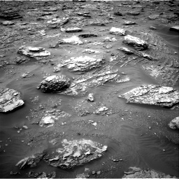 Nasa's Mars rover Curiosity acquired this image using its Right Navigation Camera on Sol 2092, at drive 294, site number 71
