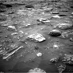 Nasa's Mars rover Curiosity acquired this image using its Right Navigation Camera on Sol 2092, at drive 306, site number 71