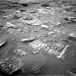 Nasa's Mars rover Curiosity acquired this image using its Right Navigation Camera on Sol 2092, at drive 318, site number 71
