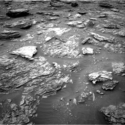 Nasa's Mars rover Curiosity acquired this image using its Right Navigation Camera on Sol 2092, at drive 342, site number 71