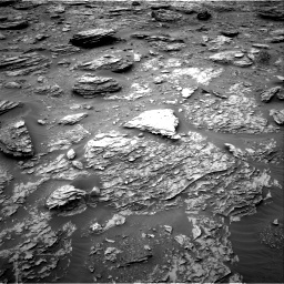 Nasa's Mars rover Curiosity acquired this image using its Right Navigation Camera on Sol 2092, at drive 348, site number 71