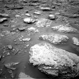 Nasa's Mars rover Curiosity acquired this image using its Right Navigation Camera on Sol 2092, at drive 408, site number 71