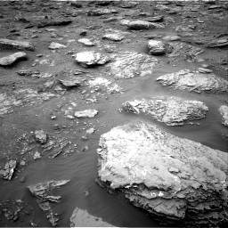 Nasa's Mars rover Curiosity acquired this image using its Right Navigation Camera on Sol 2092, at drive 414, site number 71
