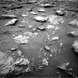 Nasa's Mars rover Curiosity acquired this image using its Right Navigation Camera on Sol 2092, at drive 438, site number 71