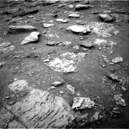 Nasa's Mars rover Curiosity acquired this image using its Right Navigation Camera on Sol 2092, at drive 450, site number 71