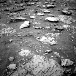 Nasa's Mars rover Curiosity acquired this image using its Right Navigation Camera on Sol 2092, at drive 456, site number 71