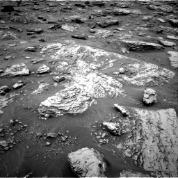 Nasa's Mars rover Curiosity acquired this image using its Right Navigation Camera on Sol 2092, at drive 492, site number 71