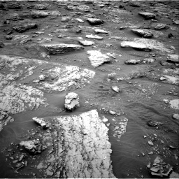 Nasa's Mars rover Curiosity acquired this image using its Right Navigation Camera on Sol 2092, at drive 498, site number 71