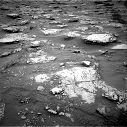 Nasa's Mars rover Curiosity acquired this image using its Right Navigation Camera on Sol 2092, at drive 510, site number 71