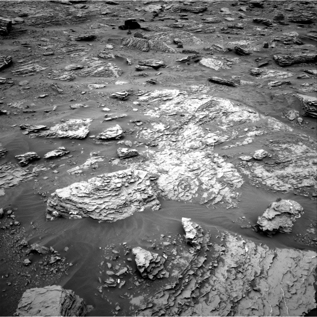 Nasa's Mars rover Curiosity acquired this image using its Right Navigation Camera on Sol 2092, at drive 516, site number 71