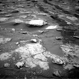 Nasa's Mars rover Curiosity acquired this image using its Right Navigation Camera on Sol 2092, at drive 522, site number 71