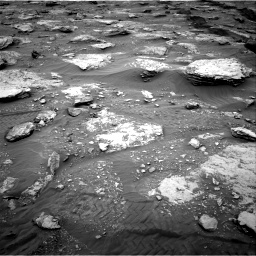 Nasa's Mars rover Curiosity acquired this image using its Right Navigation Camera on Sol 2092, at drive 534, site number 71