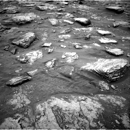 Nasa's Mars rover Curiosity acquired this image using its Right Navigation Camera on Sol 2092, at drive 564, site number 71