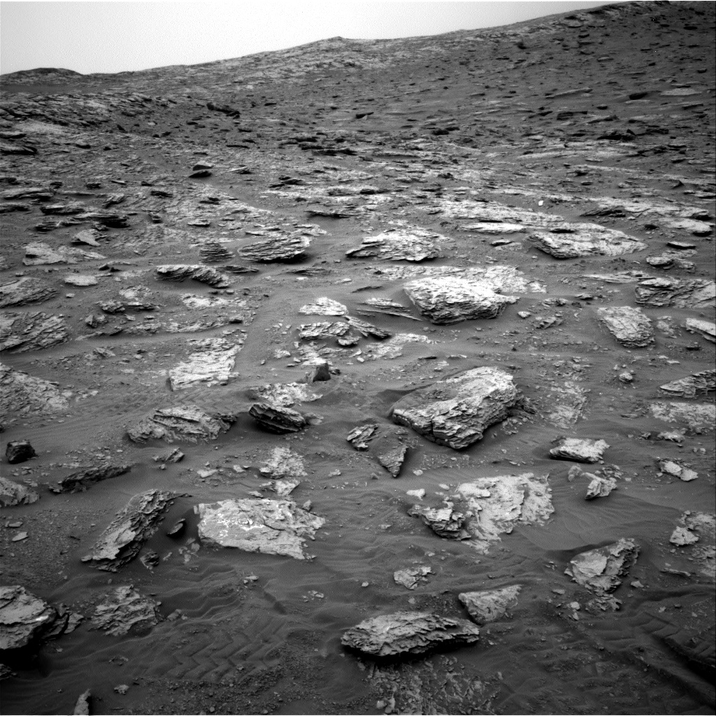 Nasa's Mars rover Curiosity acquired this image using its Right Navigation Camera on Sol 2092, at drive 570, site number 71