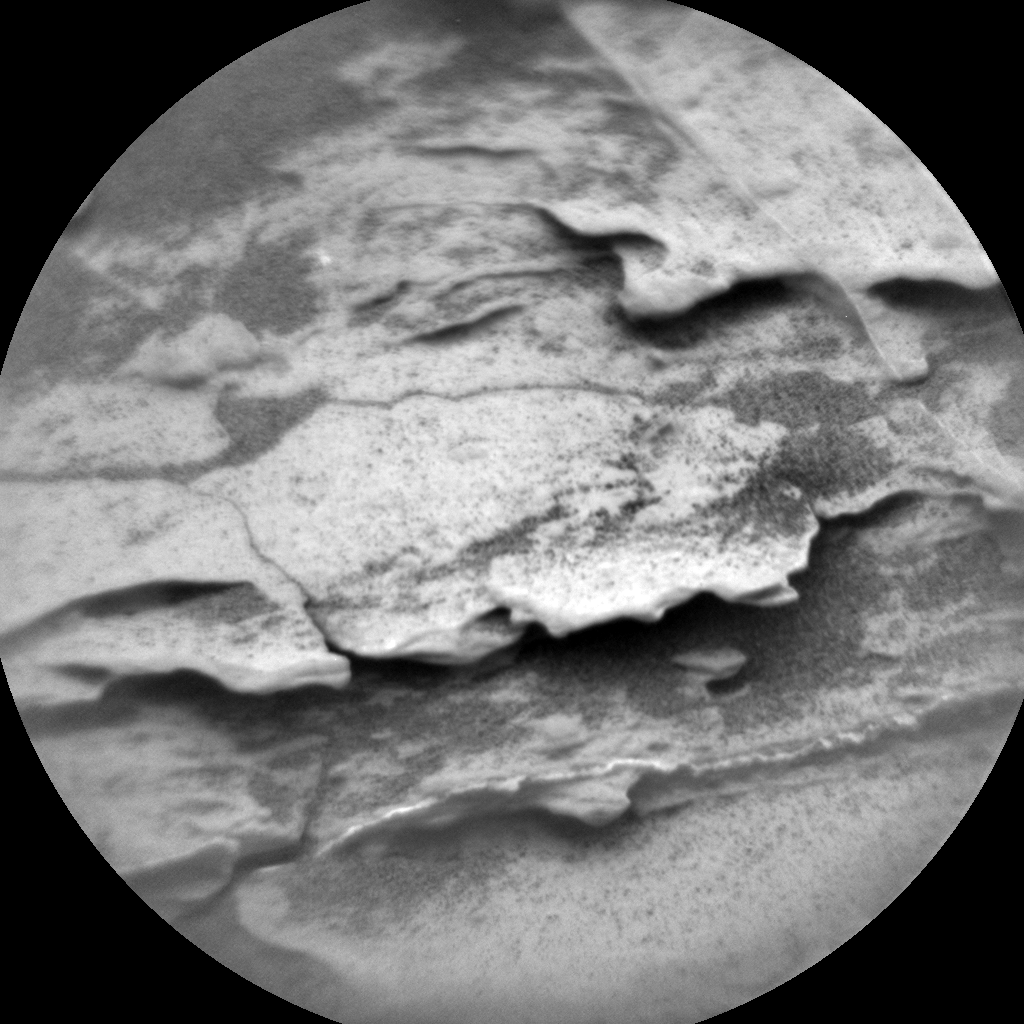 Nasa's Mars rover Curiosity acquired this image using its Chemistry & Camera (ChemCam) on Sol 2093, at drive 570, site number 71