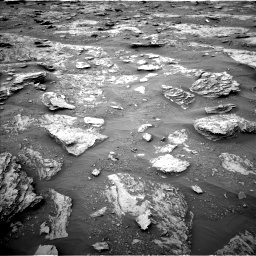 Nasa's Mars rover Curiosity acquired this image using its Left Navigation Camera on Sol 2094, at drive 660, site number 71