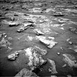 Nasa's Mars rover Curiosity acquired this image using its Left Navigation Camera on Sol 2094, at drive 666, site number 71