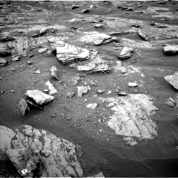 Nasa's Mars rover Curiosity acquired this image using its Left Navigation Camera on Sol 2094, at drive 690, site number 71