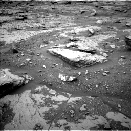 Nasa's Mars rover Curiosity acquired this image using its Left Navigation Camera on Sol 2094, at drive 720, site number 71
