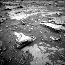 Nasa's Mars rover Curiosity acquired this image using its Left Navigation Camera on Sol 2094, at drive 726, site number 71