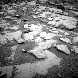 Nasa's Mars rover Curiosity acquired this image using its Left Navigation Camera on Sol 2094, at drive 762, site number 71