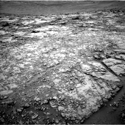 Nasa's Mars rover Curiosity acquired this image using its Left Navigation Camera on Sol 2094, at drive 804, site number 71