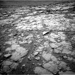 Nasa's Mars rover Curiosity acquired this image using its Left Navigation Camera on Sol 2094, at drive 846, site number 71