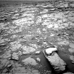 Nasa's Mars rover Curiosity acquired this image using its Left Navigation Camera on Sol 2094, at drive 870, site number 71