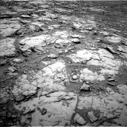 Nasa's Mars rover Curiosity acquired this image using its Left Navigation Camera on Sol 2094, at drive 978, site number 71