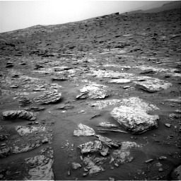 Nasa's Mars rover Curiosity acquired this image using its Right Navigation Camera on Sol 2094, at drive 618, site number 71