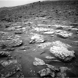 Nasa's Mars rover Curiosity acquired this image using its Right Navigation Camera on Sol 2094, at drive 624, site number 71
