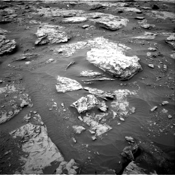 Nasa's Mars rover Curiosity acquired this image using its Right Navigation Camera on Sol 2094, at drive 636, site number 71