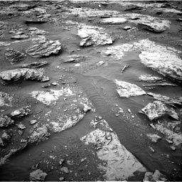 Nasa's Mars rover Curiosity acquired this image using its Right Navigation Camera on Sol 2094, at drive 642, site number 71
