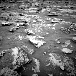 Nasa's Mars rover Curiosity acquired this image using its Right Navigation Camera on Sol 2094, at drive 666, site number 71