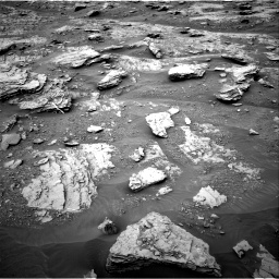 Nasa's Mars rover Curiosity acquired this image using its Right Navigation Camera on Sol 2094, at drive 684, site number 71