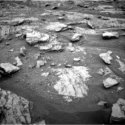 Nasa's Mars rover Curiosity acquired this image using its Right Navigation Camera on Sol 2094, at drive 690, site number 71