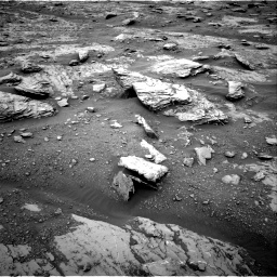 Nasa's Mars rover Curiosity acquired this image using its Right Navigation Camera on Sol 2094, at drive 708, site number 71