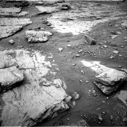 Nasa's Mars rover Curiosity acquired this image using its Right Navigation Camera on Sol 2094, at drive 738, site number 71