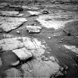 Nasa's Mars rover Curiosity acquired this image using its Right Navigation Camera on Sol 2094, at drive 744, site number 71