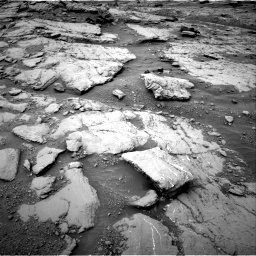 Nasa's Mars rover Curiosity acquired this image using its Right Navigation Camera on Sol 2094, at drive 750, site number 71