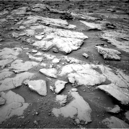 Nasa's Mars rover Curiosity acquired this image using its Right Navigation Camera on Sol 2094, at drive 756, site number 71
