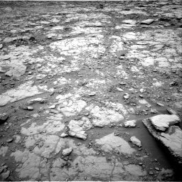 Nasa's Mars rover Curiosity acquired this image using its Right Navigation Camera on Sol 2094, at drive 876, site number 71