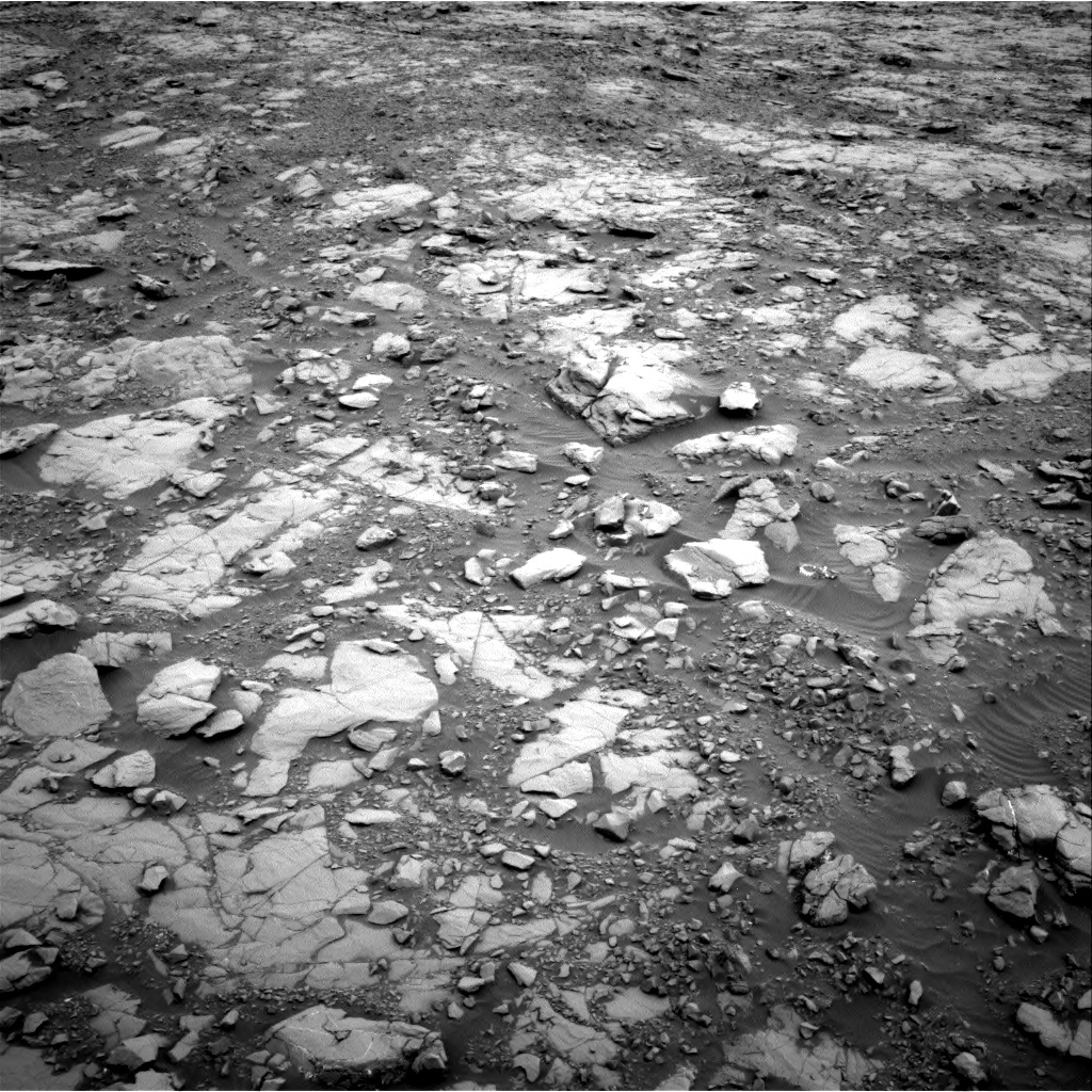 Nasa's Mars rover Curiosity acquired this image using its Right Navigation Camera on Sol 2094, at drive 960, site number 71
